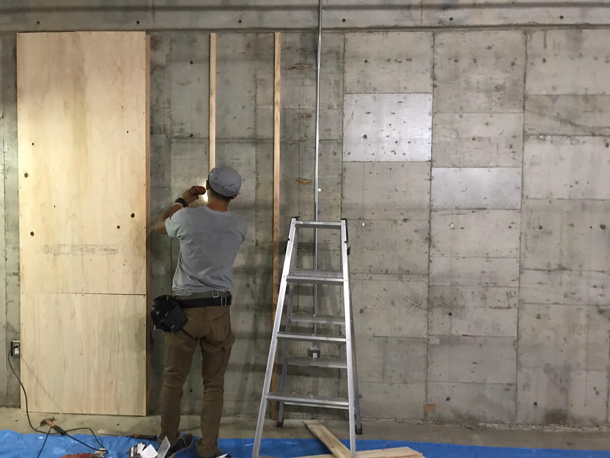 ARTAS Gallery 内装工事開始!