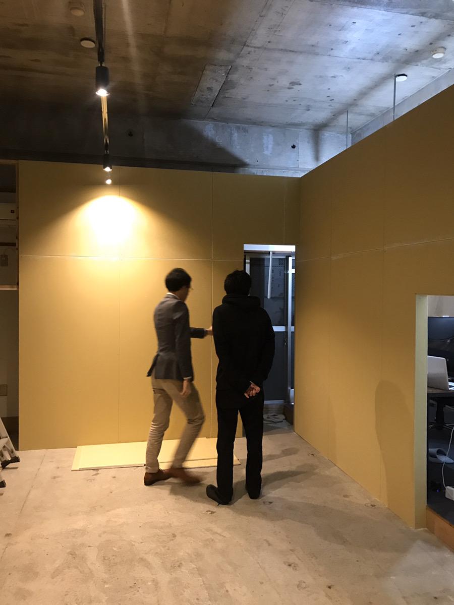 ARTAS Gallery 内装工事 経過報告