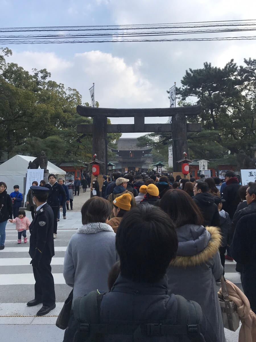 筥崎宮【初詣】2020年
